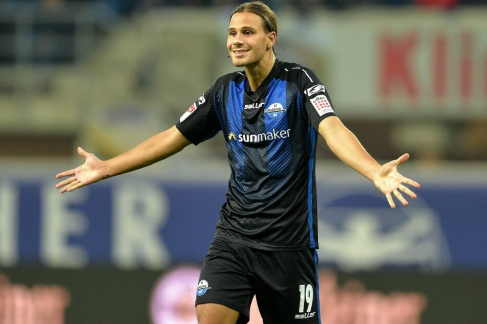 Auch Profi-Kicker Tobias Schwede stand bei dem Hallen-Cup für den SCP auf dem Platz.