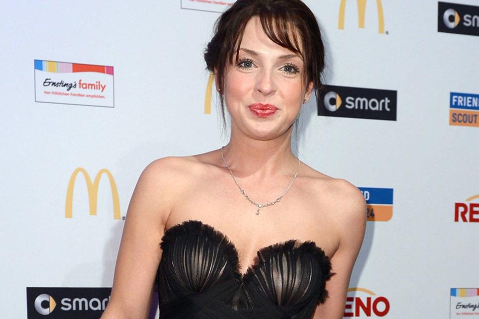 """Maria Wedig: Immer gut gelaunt, wie hier in Berlin zur Verleihung des """"German Soap Awards"""" 2012."""
