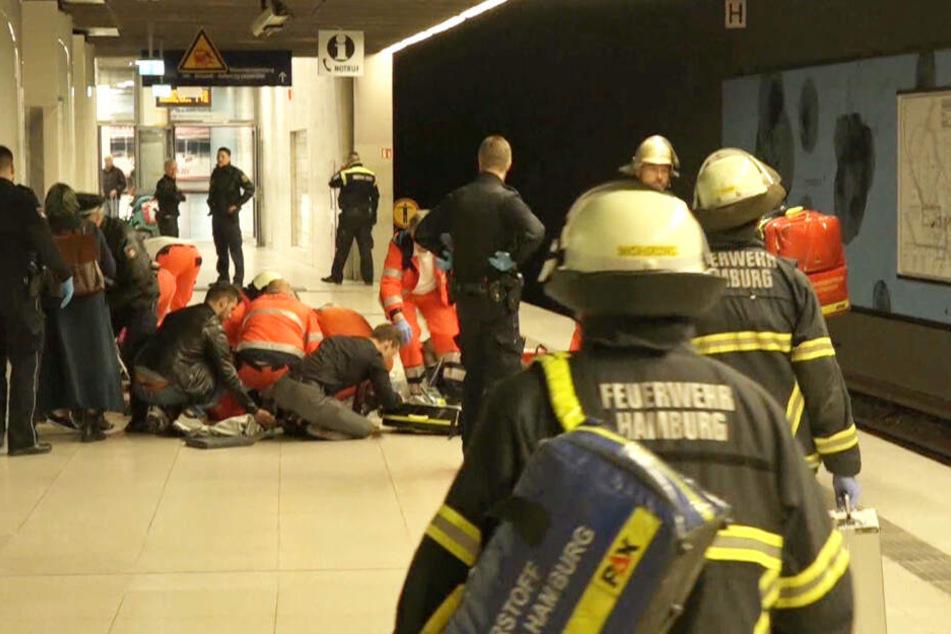 Eine Frau und ihre Tochter wurden im April an der S-Bahn-Haltestelle Jungfernstieg mit einem Messer getötet (Archivbild).