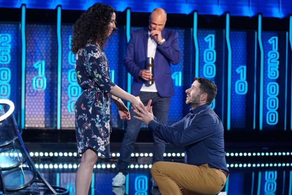 Am Ende gab es für Sabrina noch einen Heiratsantrag von ihrem Basel.
