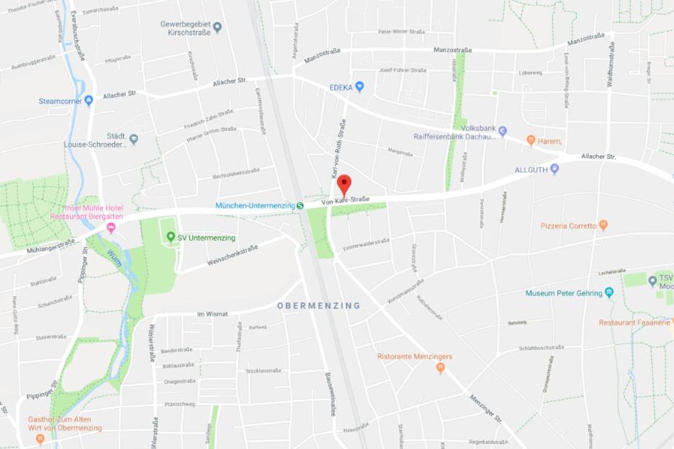 Die Polizei konnte in München einen Raser in der Von-der-Kahr-Straße stoppen und kontrollieren.