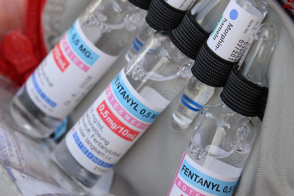 """Das Medikament """"Fentanyl"""" ist eigentlich ein Schmerzmittel, wird bei Drogenabhängigen aber oft missbraucht."""