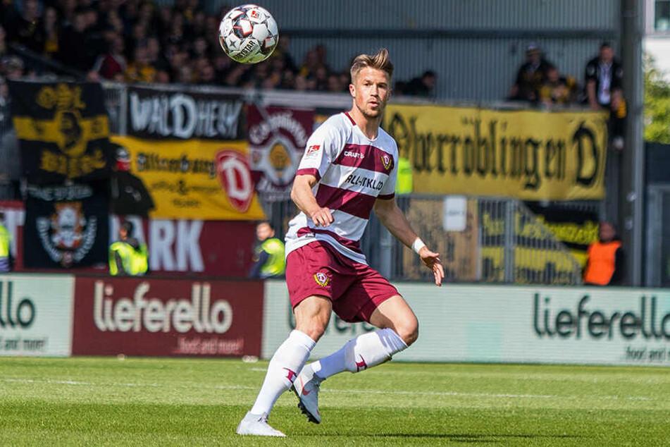 In Kiel bestritt Dynamos Patrick Möschl sein elftes Punktspiel in Folge. Für den Österreicher kommt das anstehende Saisonende zu früh.