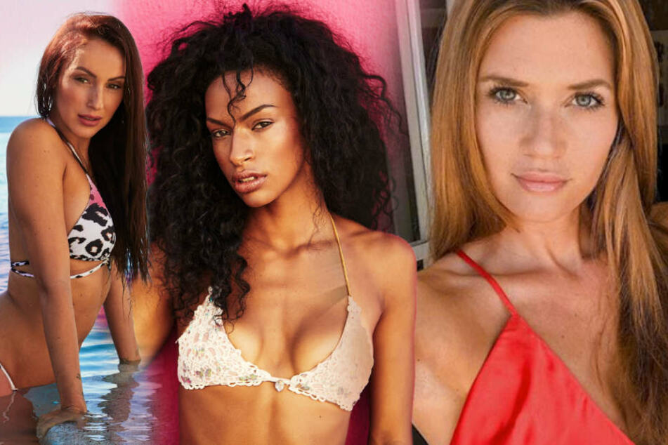 Von Nadine Klein (33, r.) können sich die neuen Bachelor-Girls Isabell (l.) und Cecilia sicher noch einiges abschauen.