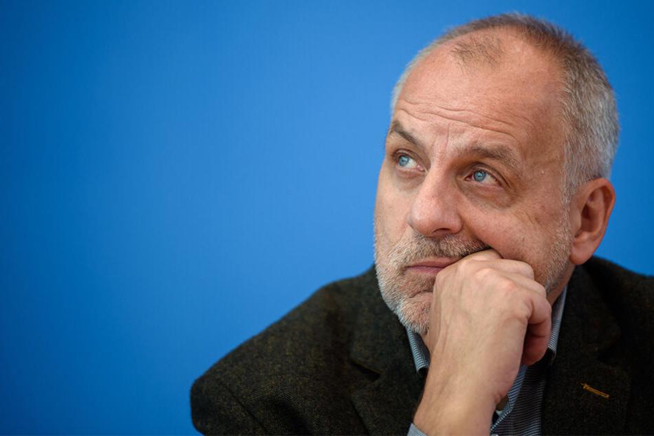 Der Spitzenkandidat und bisherige Fraktions-Chef der Linken: Rico Gebhardt (56).