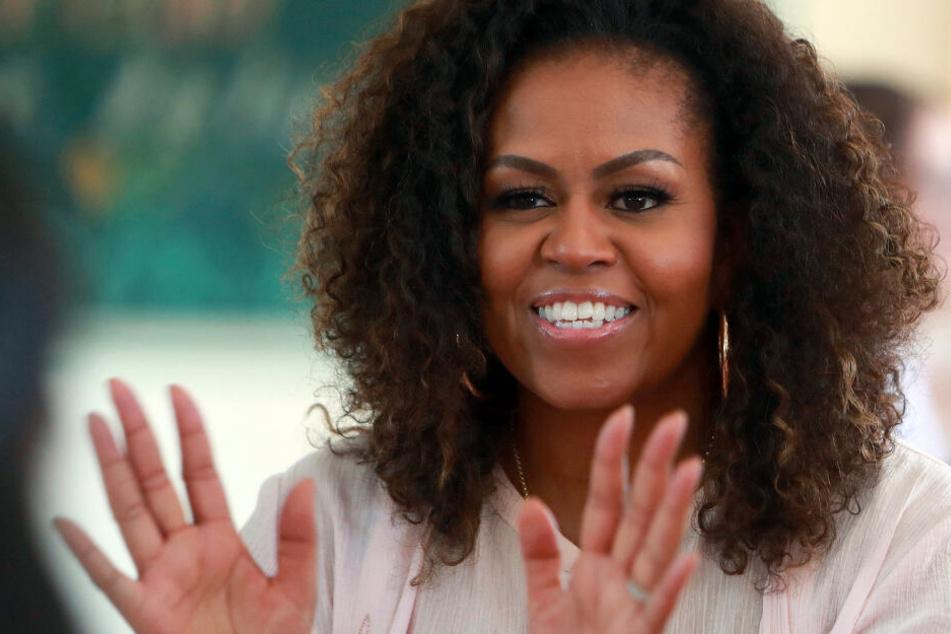 Michelle Obama hat mehr Energie, weil Töchter nicht mehr daheim wohnen