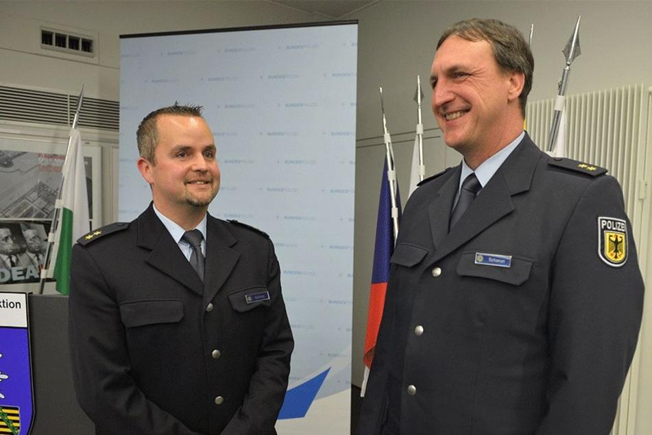 Neuer Bundespolizei-Chef in Chemnitz will Grenze besser sichern