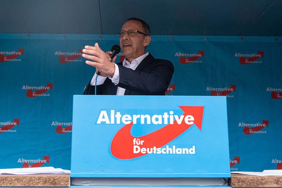 Jörg Urban (56, AfD) dürfte die neue Umfrage gefallen.