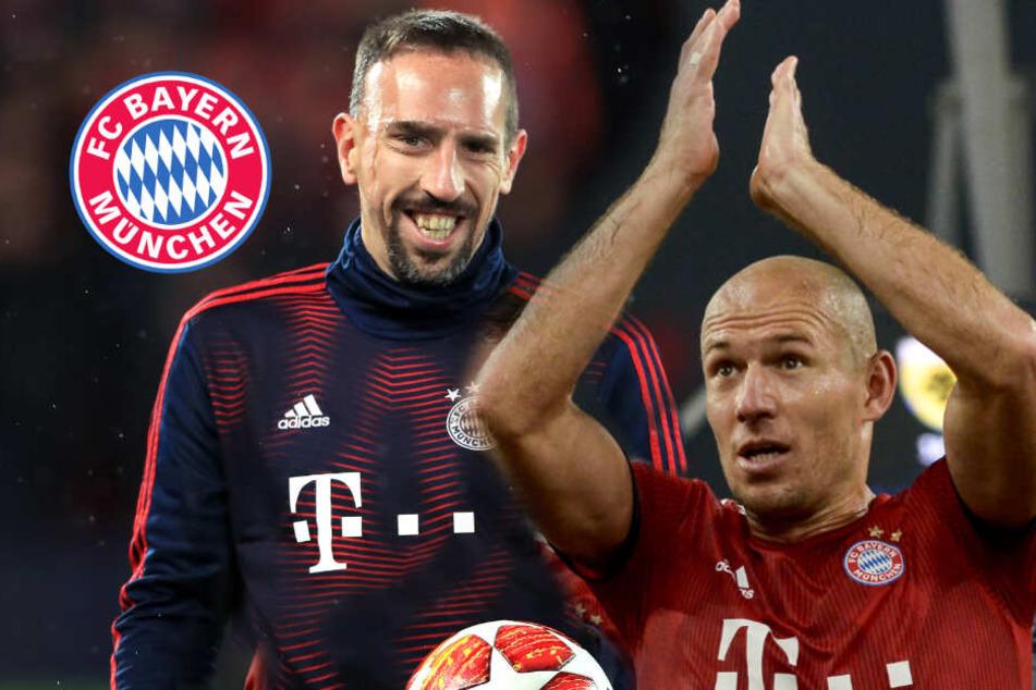 Zum Abschied: Das plant der FC Bayern für Ribéry und Robben