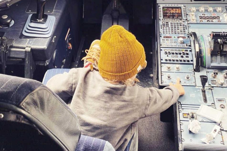 Vielleicht begrüßt der Sohn von Wayne Carpendale uns irgendwann aus dem Cockpit.