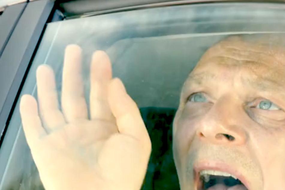 Martin Brambach (50) wurde im heißen Auto zurückgelassen.