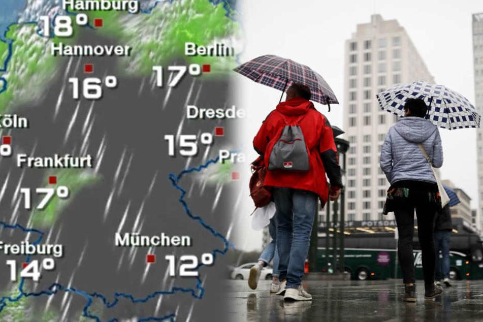 Die nächsten Tage werden in Berlin wechselhaft.