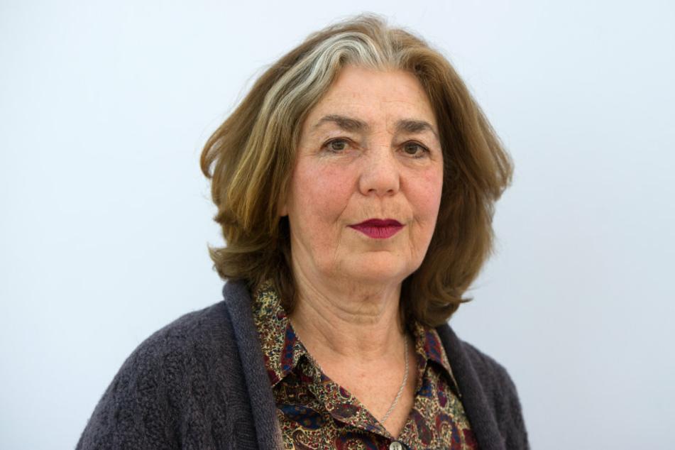 Die deutsche Schriftstellerin Irina Liebmann (77) auf der Buchmesse. (Archivbild)