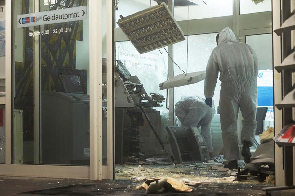 Ein Geldautomat wurde in Witten gesprengt. (Symbolbild)