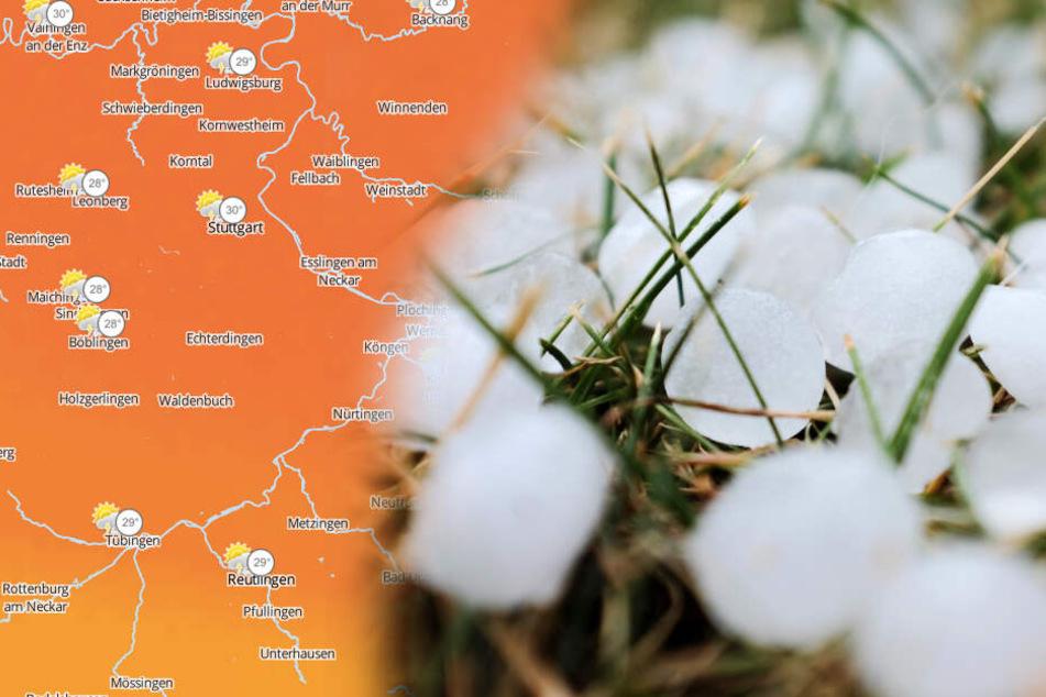 Hagel, Starkregen und Sturm: Dieses Wetter rollt heute auf uns zu!