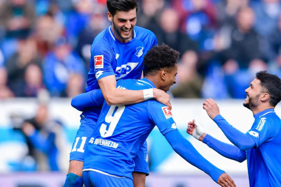 Die TSG 1899 Hoffenheim gewann die vergangenen vier Bundesliga-Spiele allesamt und das in beeindruckender Art und Weise.