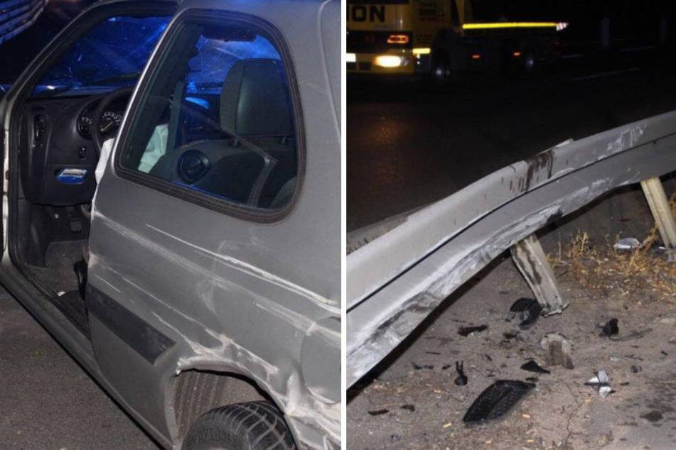 Der Fahrer des Audi wurde schwer verletzt, seine Beifahrerin und der Ford-Fahrer leicht.