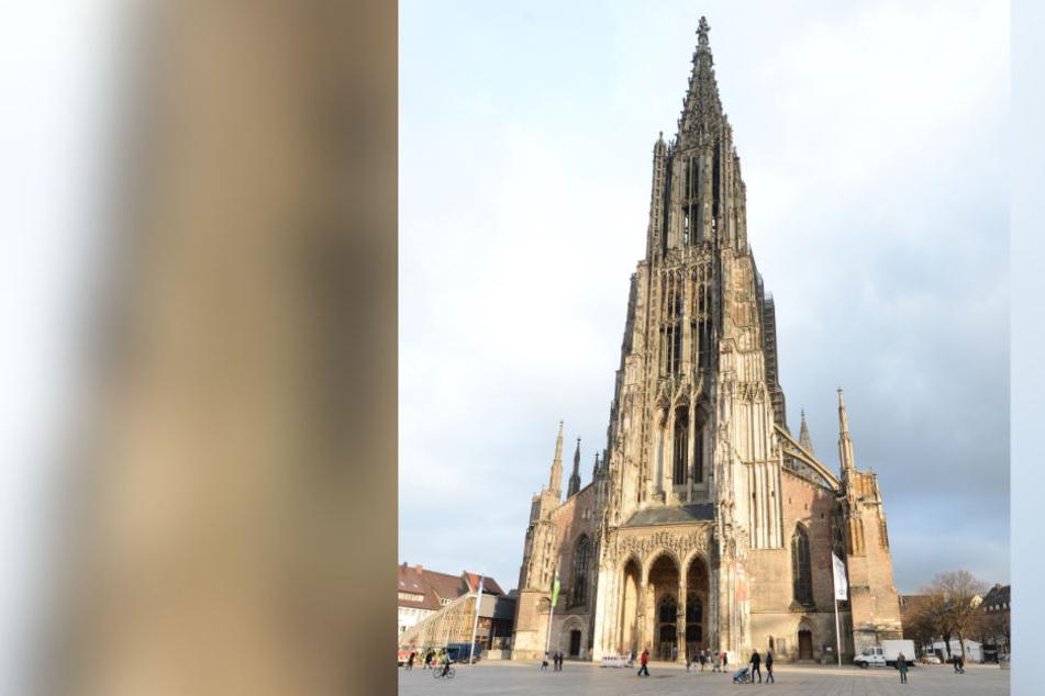 Den Kirchturm des Ulmer Münsters erklommen im letzten Jahr rund 147.000 Menschen. (Archivbild)