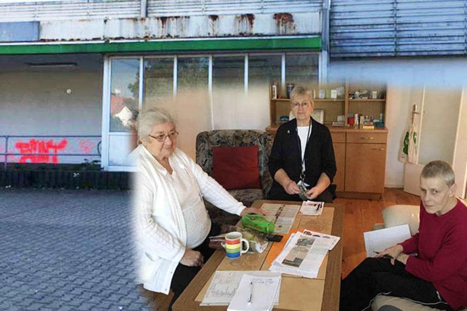 Leere Kaufhalle lässt diese Rentnerinnen verzweifeln