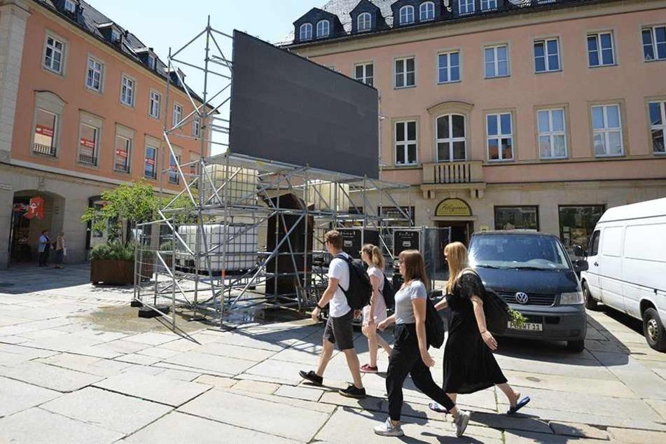 Auf Public Viewing muss in Chemnitz trotzdem niemand verzichten.