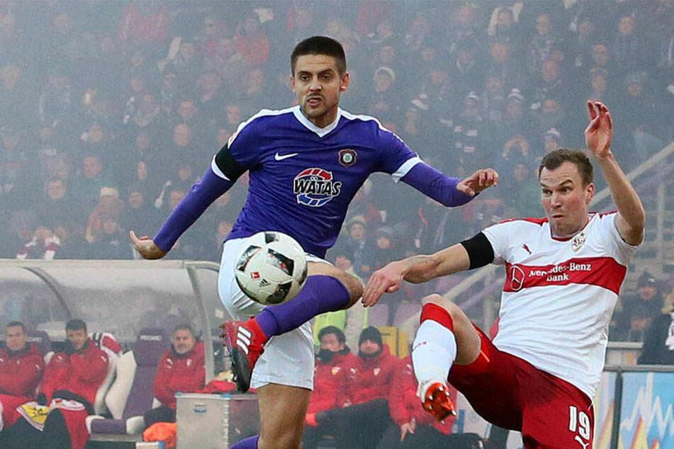 Dimitrij Nazarovs Leistungen waren bislang enttäuschend.