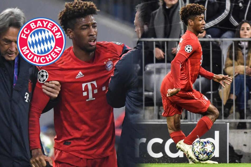 FC Bayern: Dieses Bild von Coman lässt einem das Blut in den Adern gefrieren!