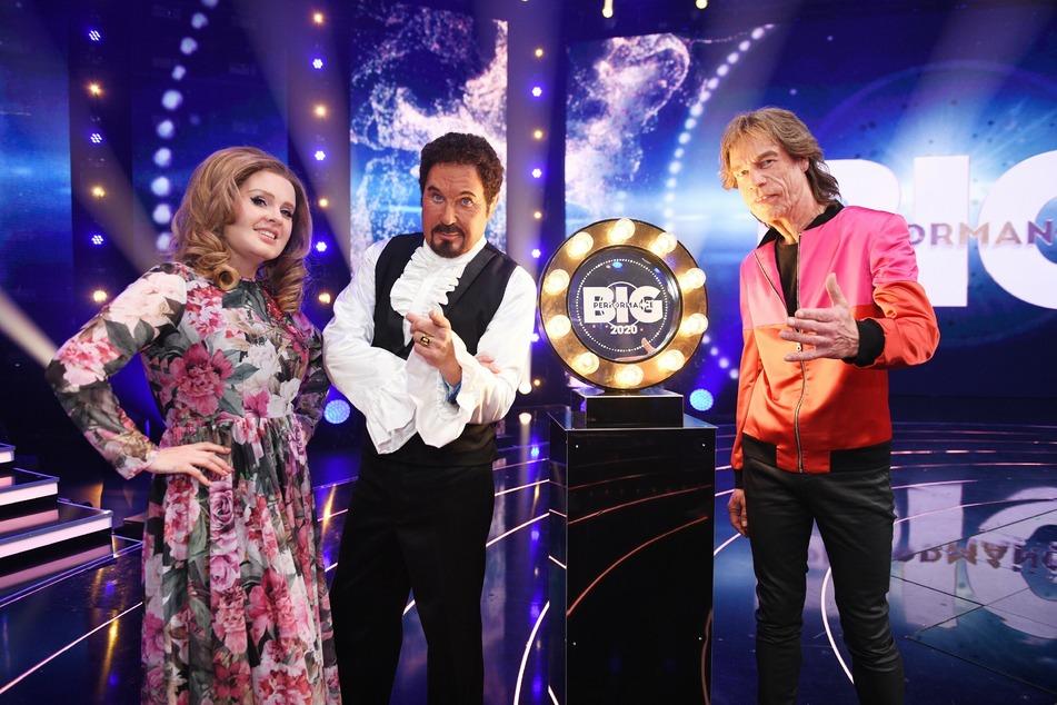 Adele, Tom Jones oder Mick Jagger? Am Ende konnte die Frau in der Runde siegen.