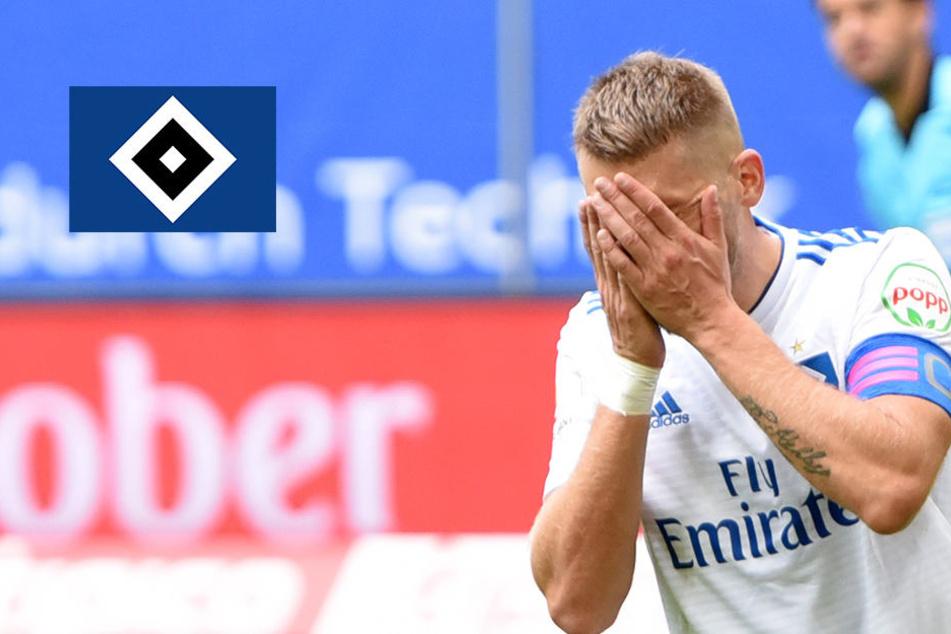 0:5! HSV rotiert sich gegen Regensburg ins Desaster