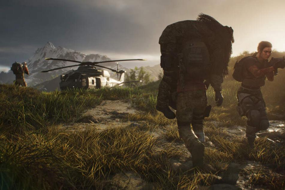 """Mit """"Breakpoint"""" veröffentlichte Ubisoft Anfang Oktober den nächsten Ableger seiner beliebten Taktik-Shooter-Reihe """"Ghost Recon""""."""
