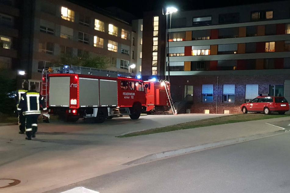 Der Zimmernachbar des 57-Jährigen überlebte den Brand nicht.