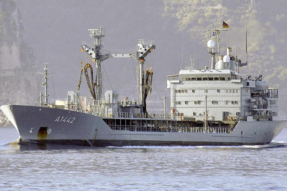"""Der Tanker """"Spessart"""" wird wohl länger nicht mehr aufs Meer fahren (Archivbild)."""