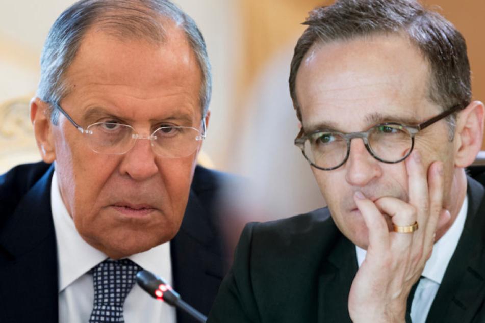Lawrow und Maas versuchen Dialog