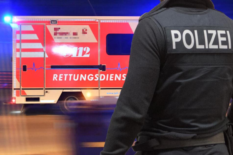 Ein Rettungswagen brachte die schwer verletzte Jugendliche in ein Krankenhaus (Symbolbild).