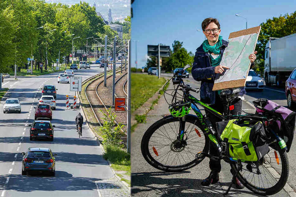 Radschnellweg Klotzsche-Albertplatz: Bekommt Dresden jetzt doch noch Highway für Pedalritter?