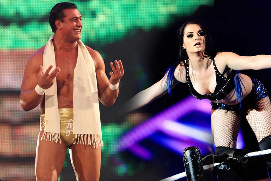 Der ehemalige WWE-SuperstarAlberto Del Rio und die WWE-Diva Paige haben sich verlobt!