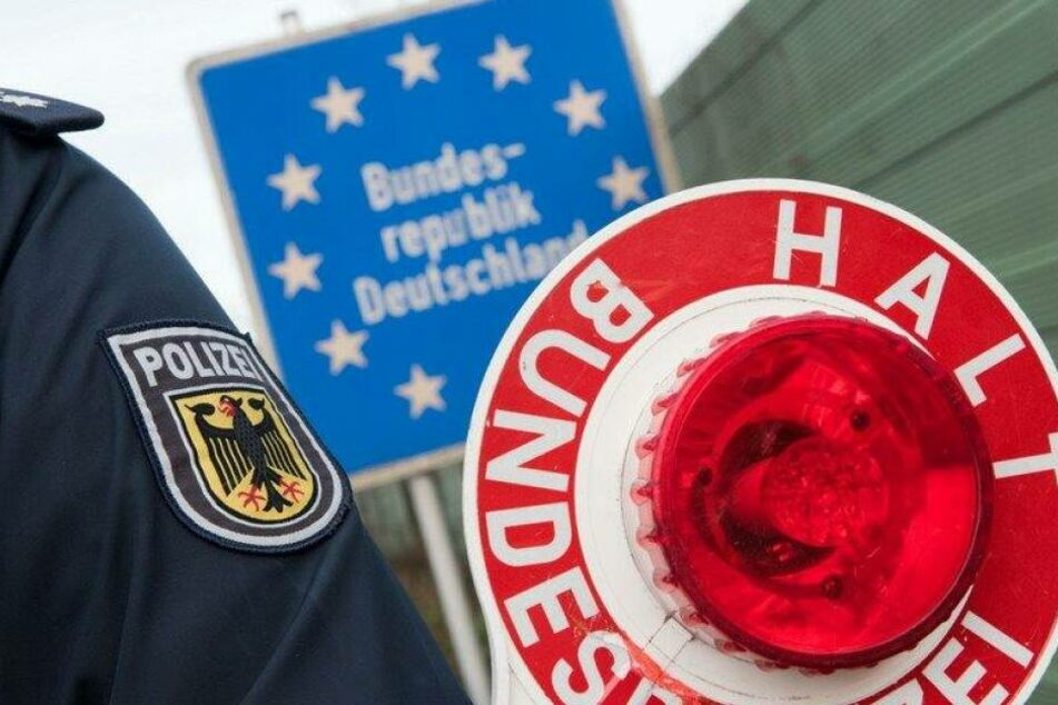 Die Bundespolizei war in den vergangenen sieben Tagen mit fast 200 Kräfte im Grenzgebiet im Einsatz. (Symbolbild)