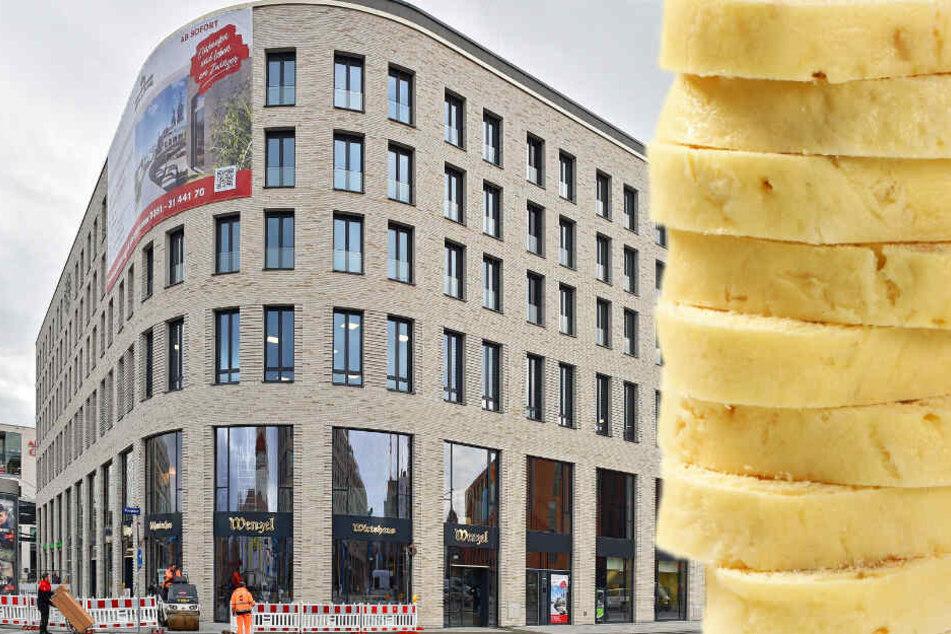 """Für 15 Jahre hat sich das """"Wenzel"""" am Postplatz eingemietet. Ab 1. März kommt der Biergarten mit 80 bis 100 Plätzen hinzu."""