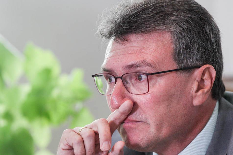 Wirbel aufgrund derPrüfungsbefreiung für seinen Sohn: Grünen-PolitikerDieter Lauinger.