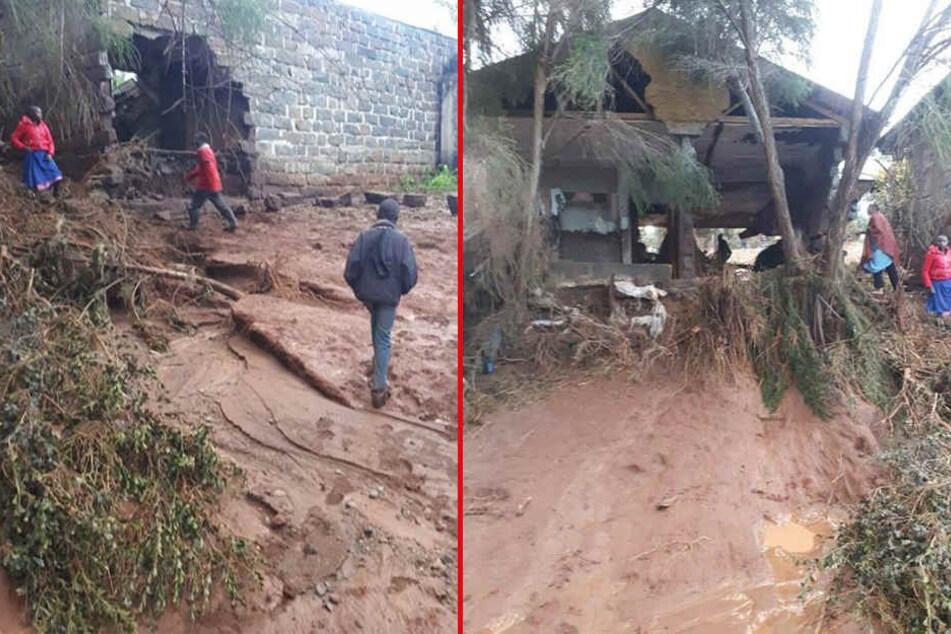 Mehr als 450 Familien sind demnach von dem Unglück betroffen.