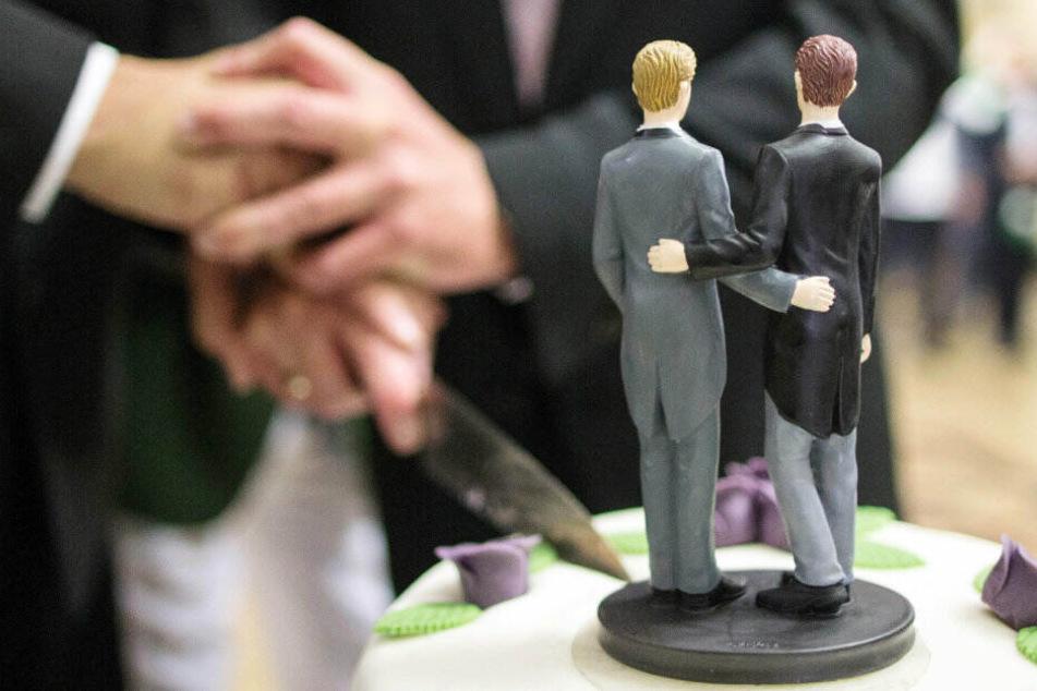 Die Zahlen für gleichgeschlechtliche Eheschliessungen pendeln sich ein.