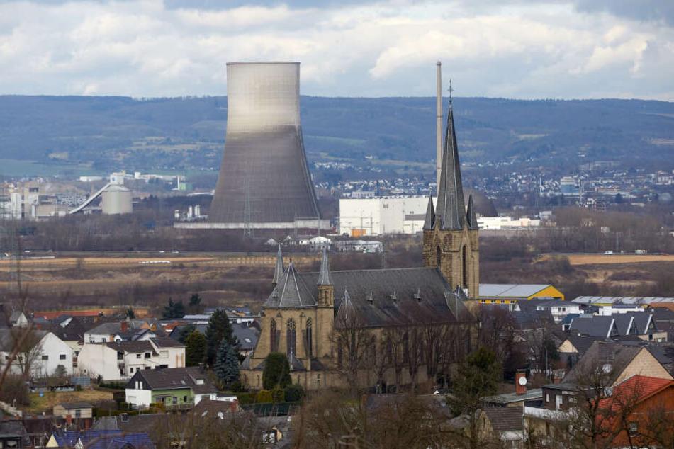 Das Atomkraftwerk vor beginn der Abrissarbeiten (Archivbild).
