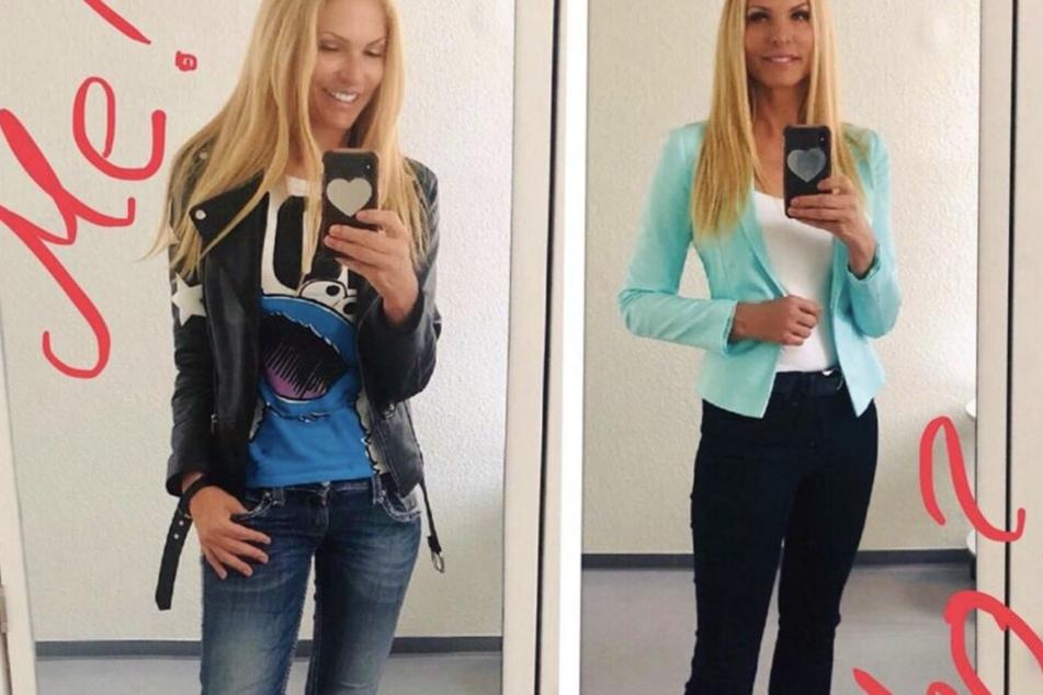 Die zwei Style-Gesichter von Sonya Kraus: Lässig versus schick.