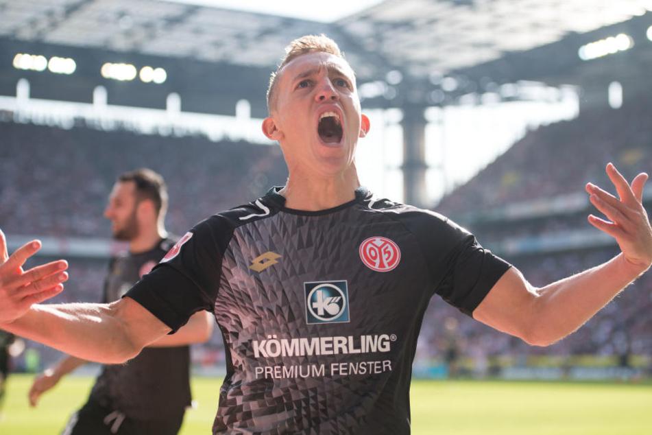 Pablo De Blasis erzielte den Ausgleich für Mainz.