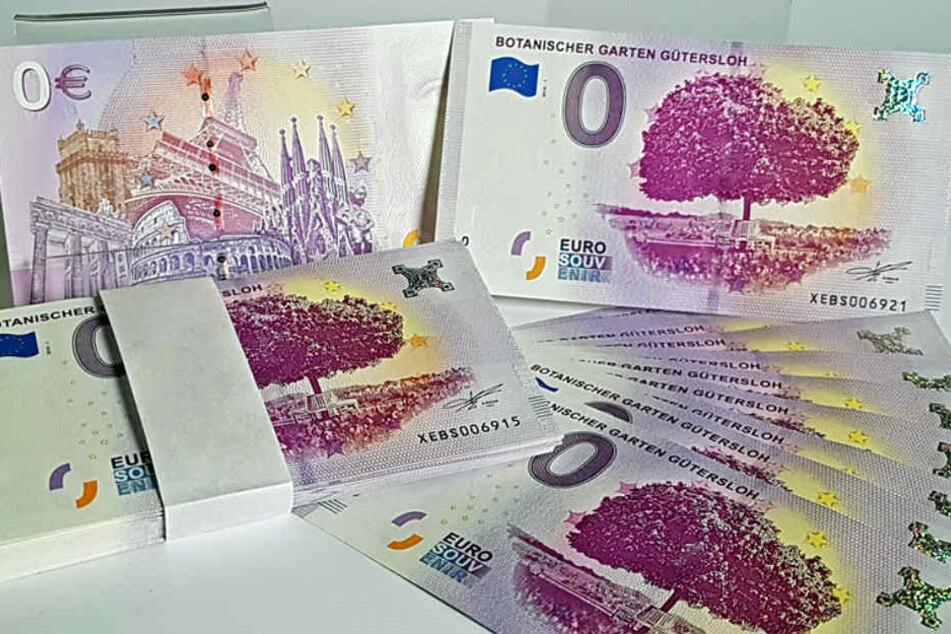 Der 0-Euro-Schein kann nicht zum Bezahlen genutzt werden.