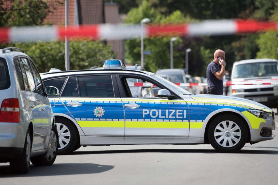 Das Gelände musste von der Polizei gesperrt werden. (Symbolfoto)