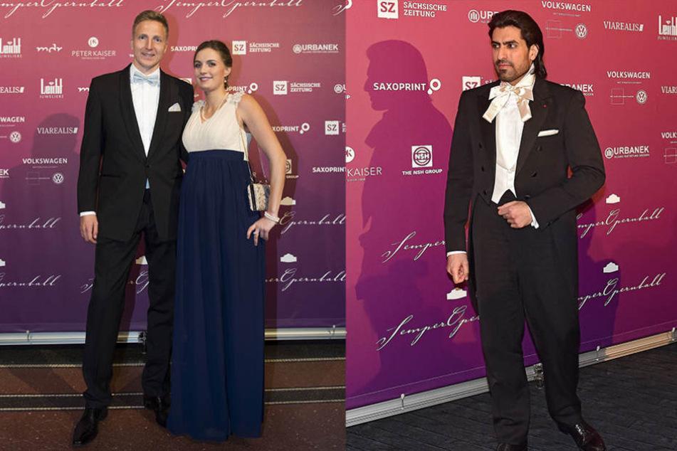 Beim SemperOpernball kam es zum Treffen von Hartmann, seiner Freundin und dem Prinzen.