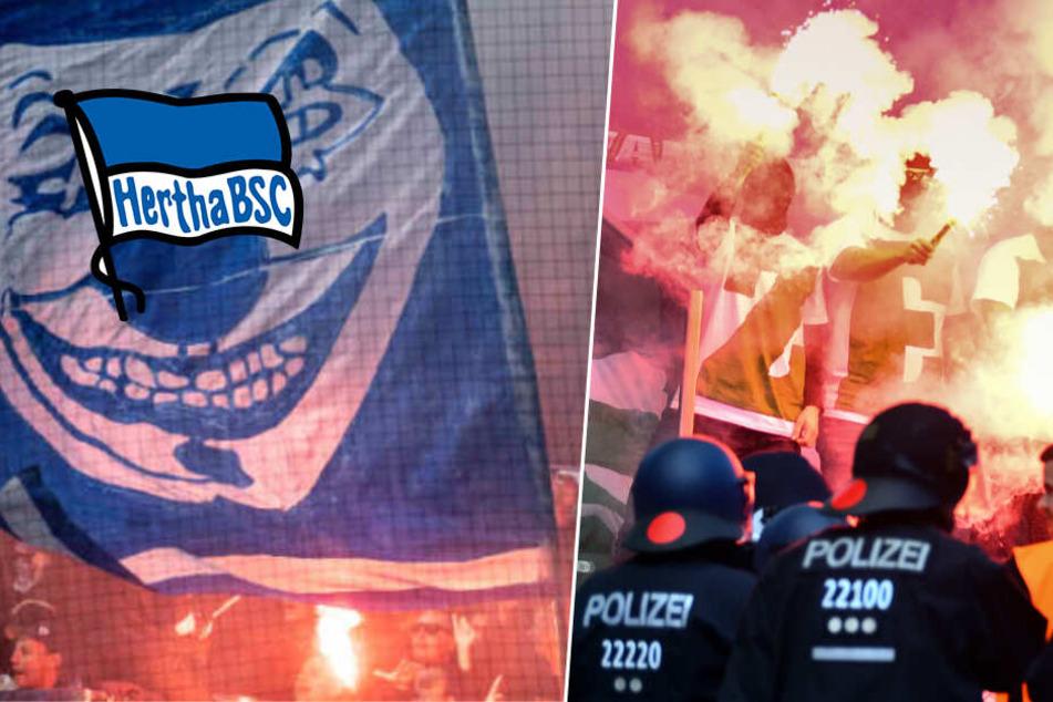 Nach Skandal-Spiel in Dortmund: Herthas Fanhilfe sieht Polizisten als Straftäter!
