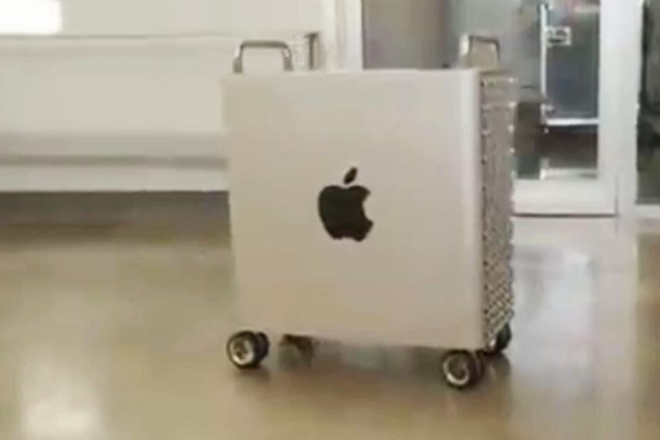 Der Super-Rechner bleibt nicht stehen, wenn der Lüfter auf Hochtouren läuft.