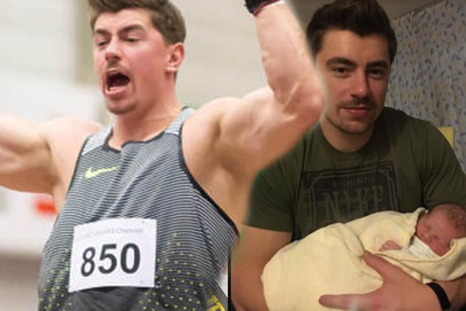 Sieg und neuer Rekord für den frischgebackenen Papa David Storl