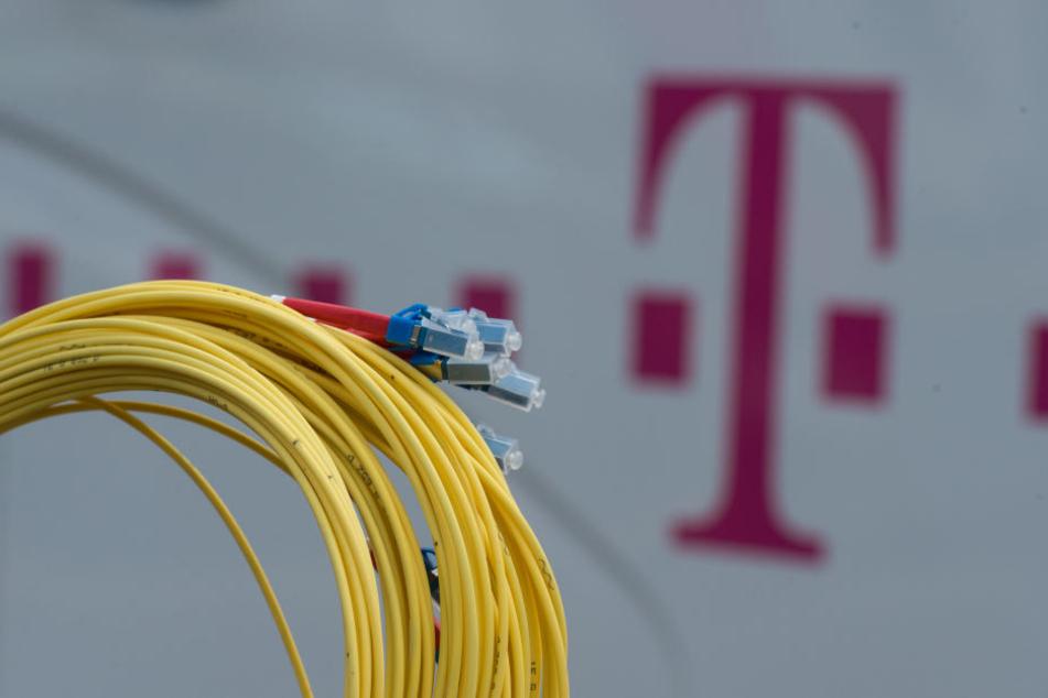 Die Telekom will ihr Glasfasernetz ausbauen.